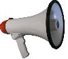 AR-1501R, D=195мм, L=300м, 15Вт, 0,9кг, пит.=9В (6х1,5В), цвет: белый с красной ручкой 119041002