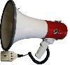 AR-3001R, D=228мм, L=600м, 25Вт, 1,14кг, пит.=12В (8х1,5В), цвет: белый с красной ручкой 119041003